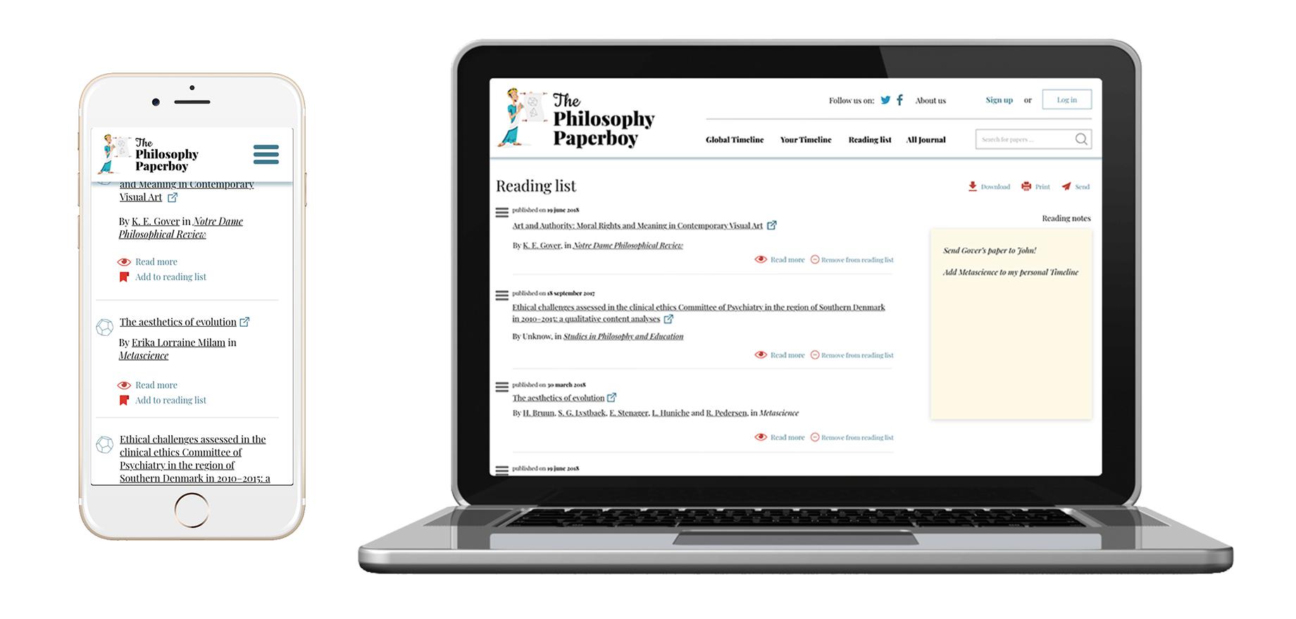 Reading Philosophy, reimagined